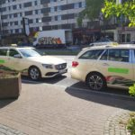 Fahrzeuge Taxi Thomas Winkler Taxi Wuppertal seitlich
